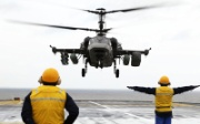 The Ka-52K Katran is a naval variant of the Ka-52 Alligator combat helicopter - ©naval-technology.com