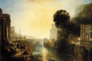 William Turner: Dido erbaut Karthago - 1815. National Gallery, London. Public Domain